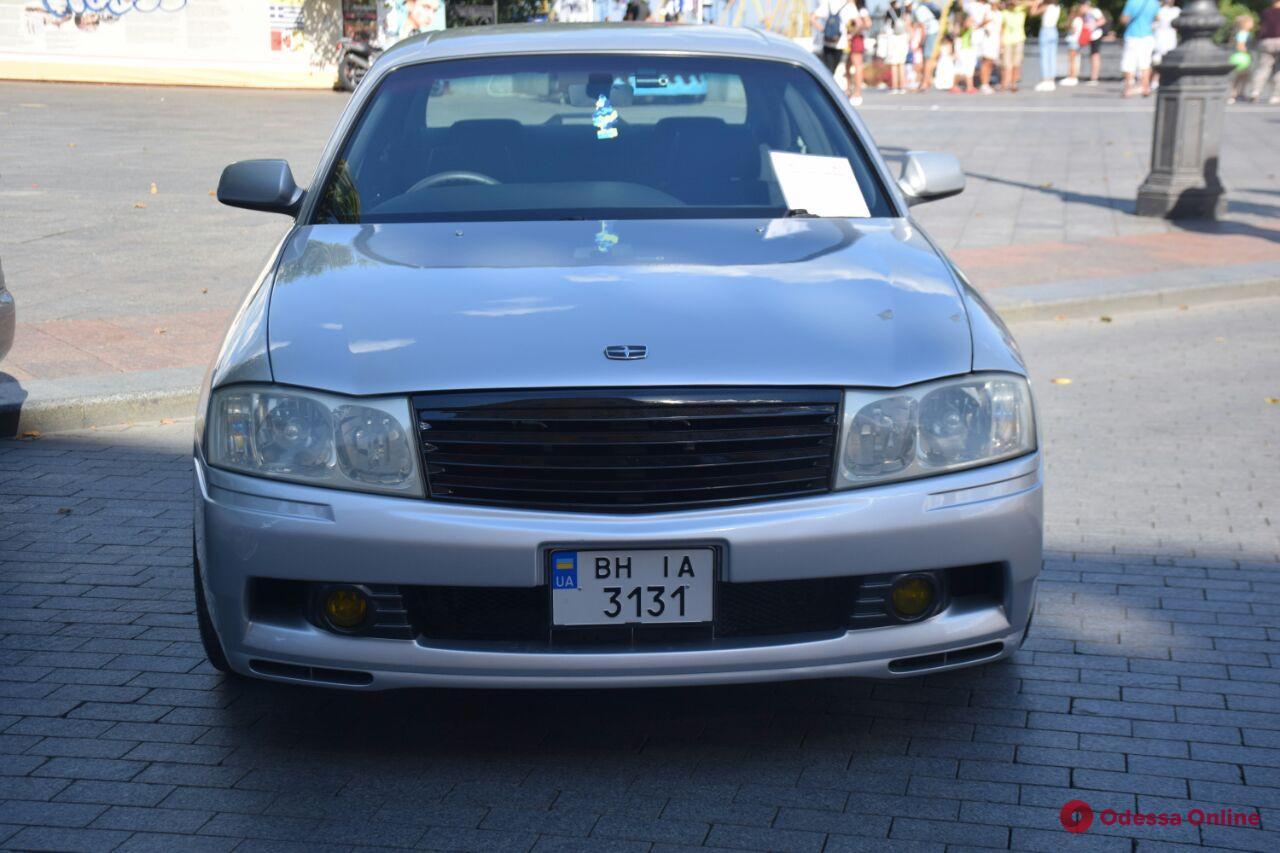 В Одессе проходит выставка японских автомобилей (фото)