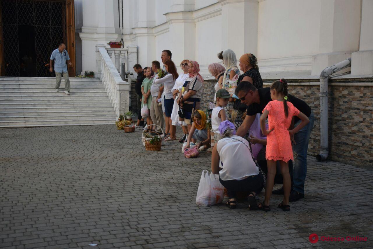 Фрукты, цветы и мед: в Одессе православные отмечают Яблочный Спас (фото)