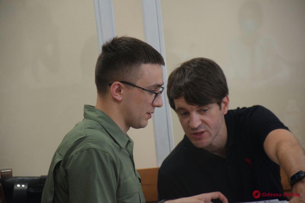 В Приморском суде Одессы началось подготовительное заседание по делу Сергея Стерненко