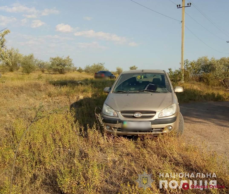 Под Одессой мужчина угнал у бывшей девушки авто, чтобы снова встретиться с ней
