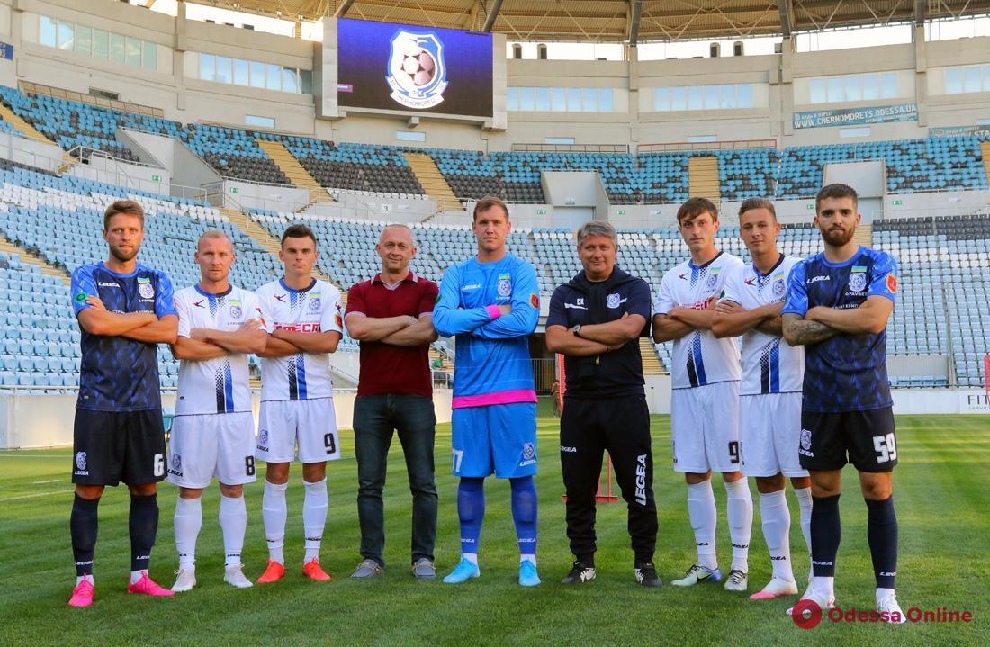 «Черноморец» представил семерых новичков и новую игровую форму