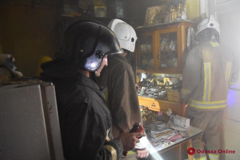 В центре Одессы горела квартира в памятнике архитектуры