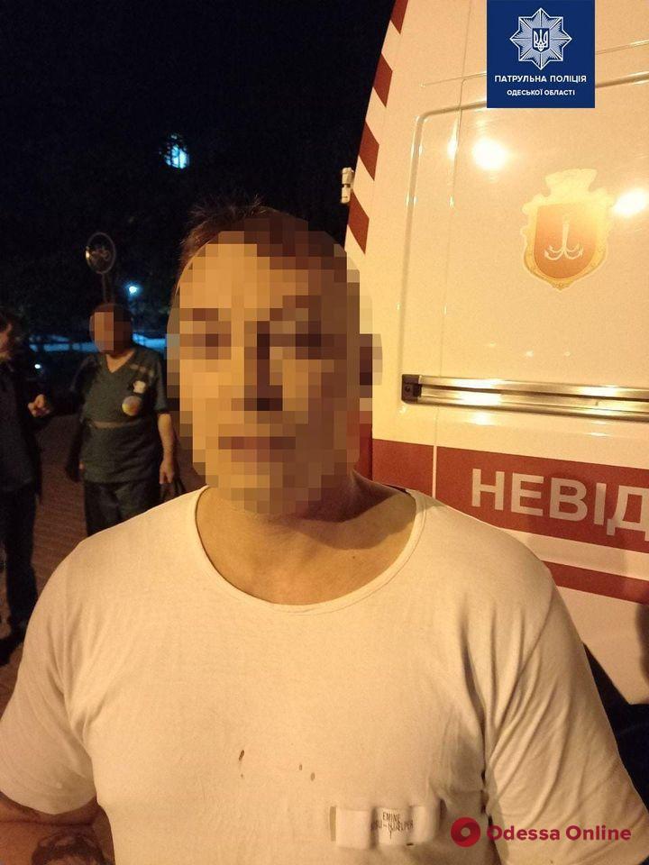 В Одессе фельдшера «скорой» избили ногами