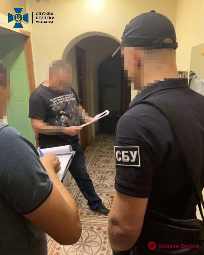 В Одессе поймали интернет-агитатора