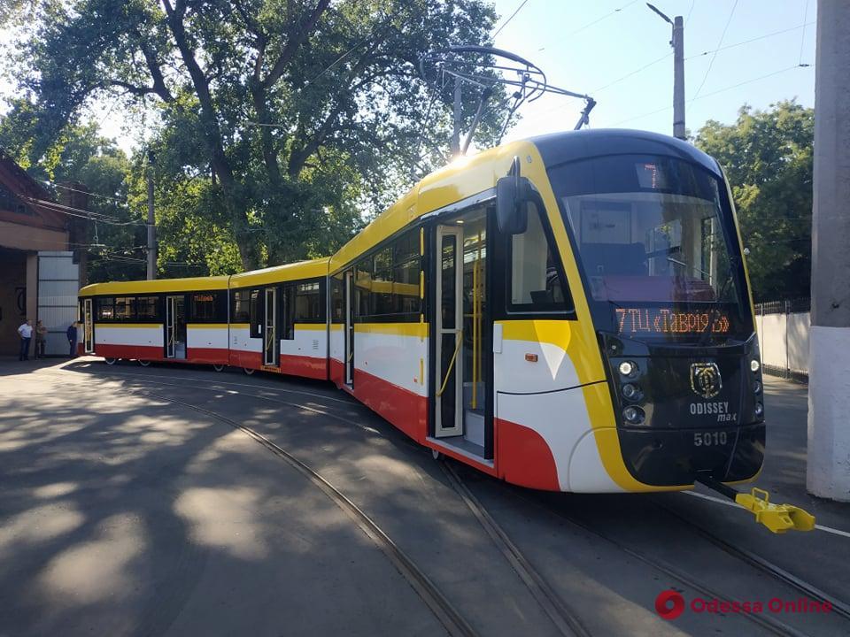 В Одессе собрали еще один трамвай Odissey MAX