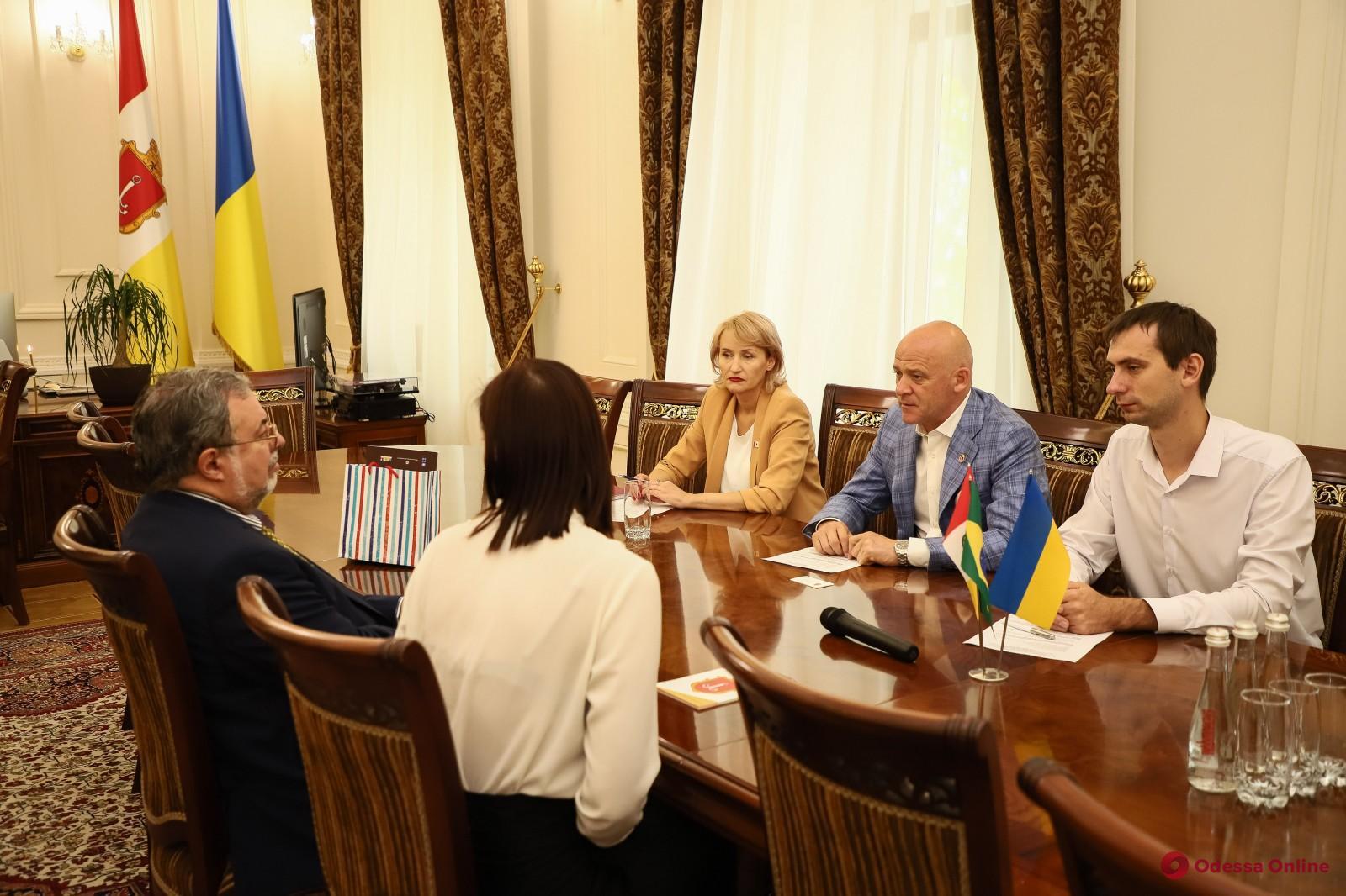 Посол Бразилии поделился впечатлениями об участии в праздновании Дня рождения Одессы