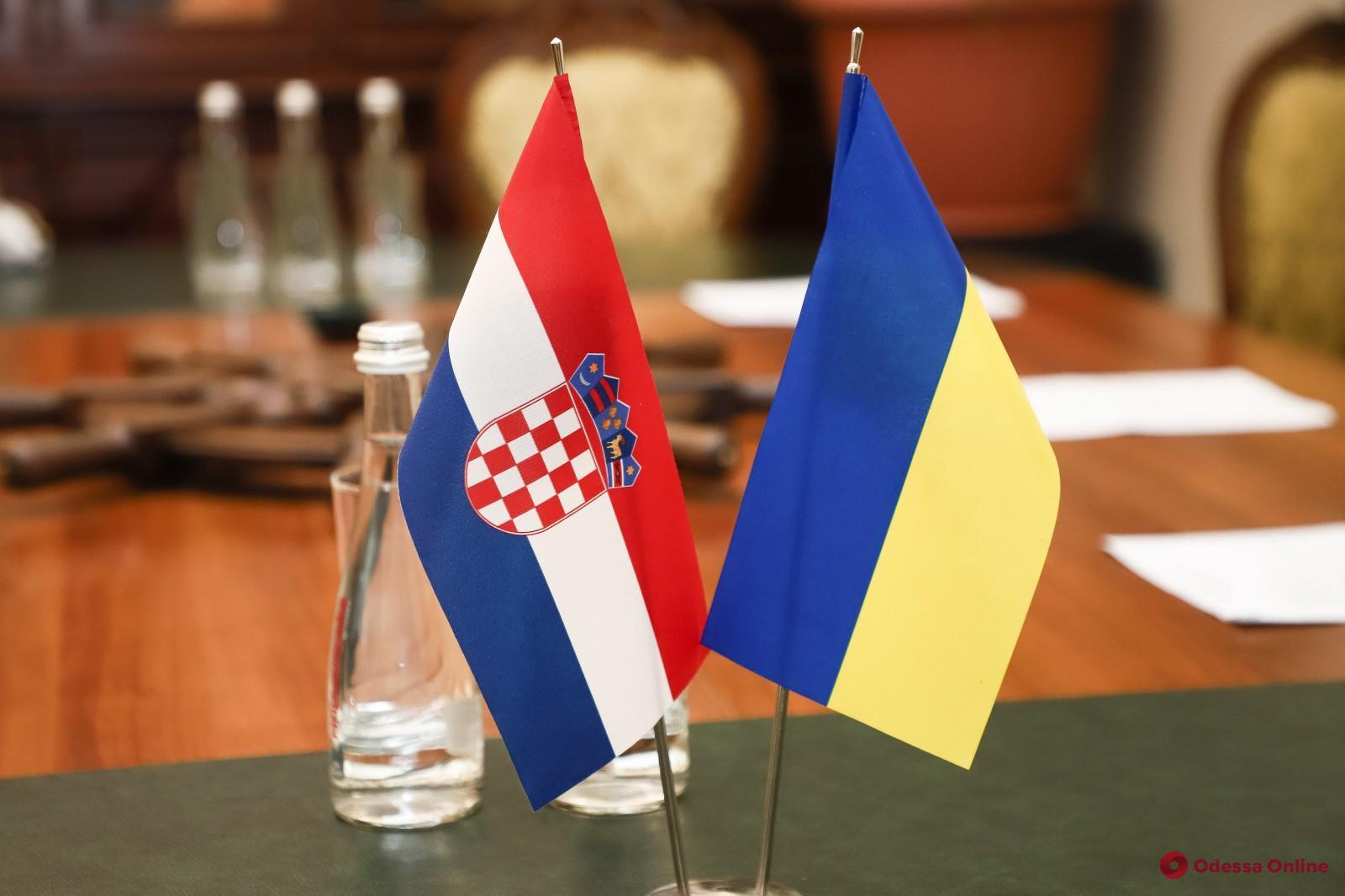 В Одессе до конца года планируют открыть консульство Хорватии