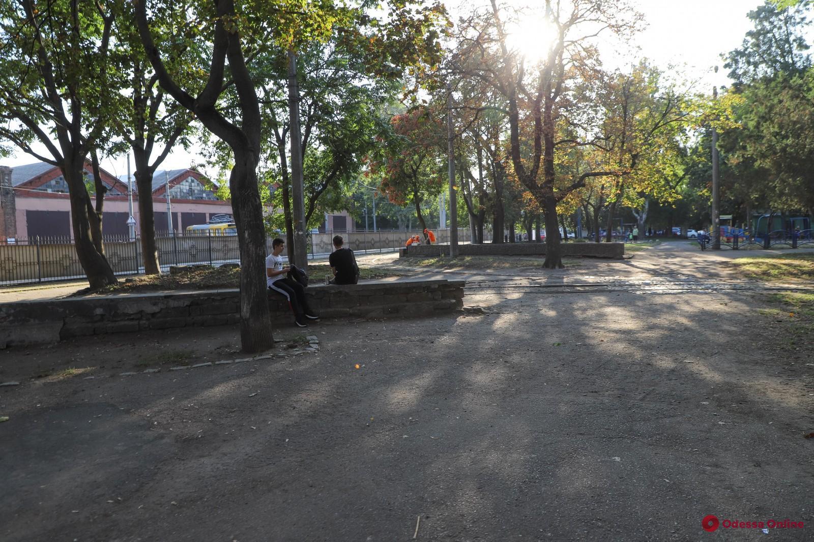 Сквер на Молдаванке готовят к капремонту