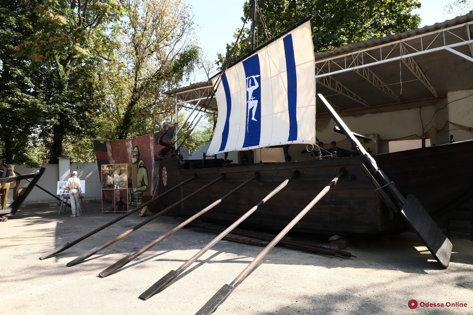 В Одессе проходит уникальная выставка об истории мореплавания