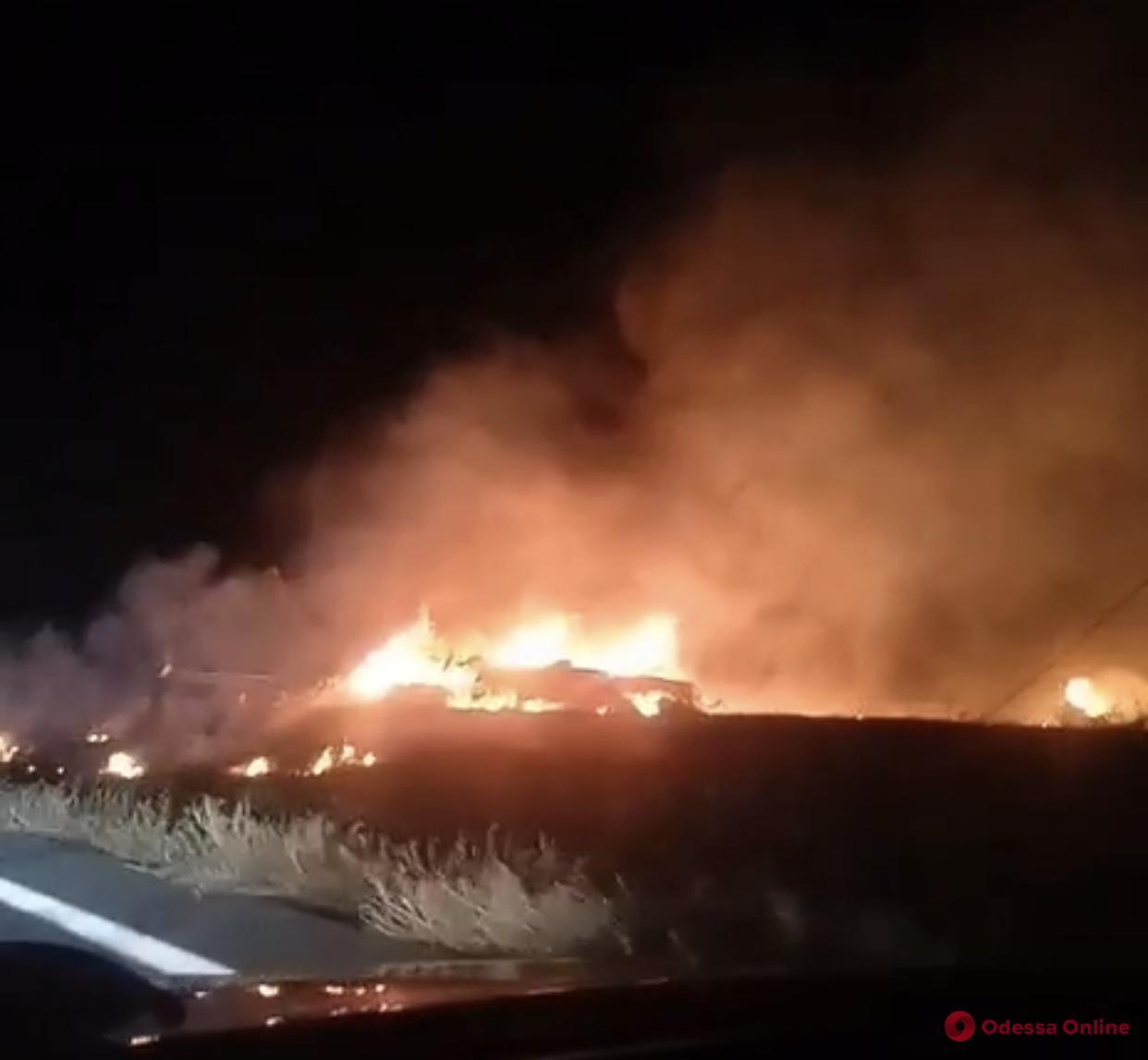 В Харьковской области разбился военный самолет (обновлено)