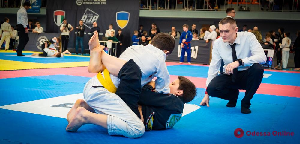 Одесса примет еще один международный турнир по бразильскому джиу-джитсу