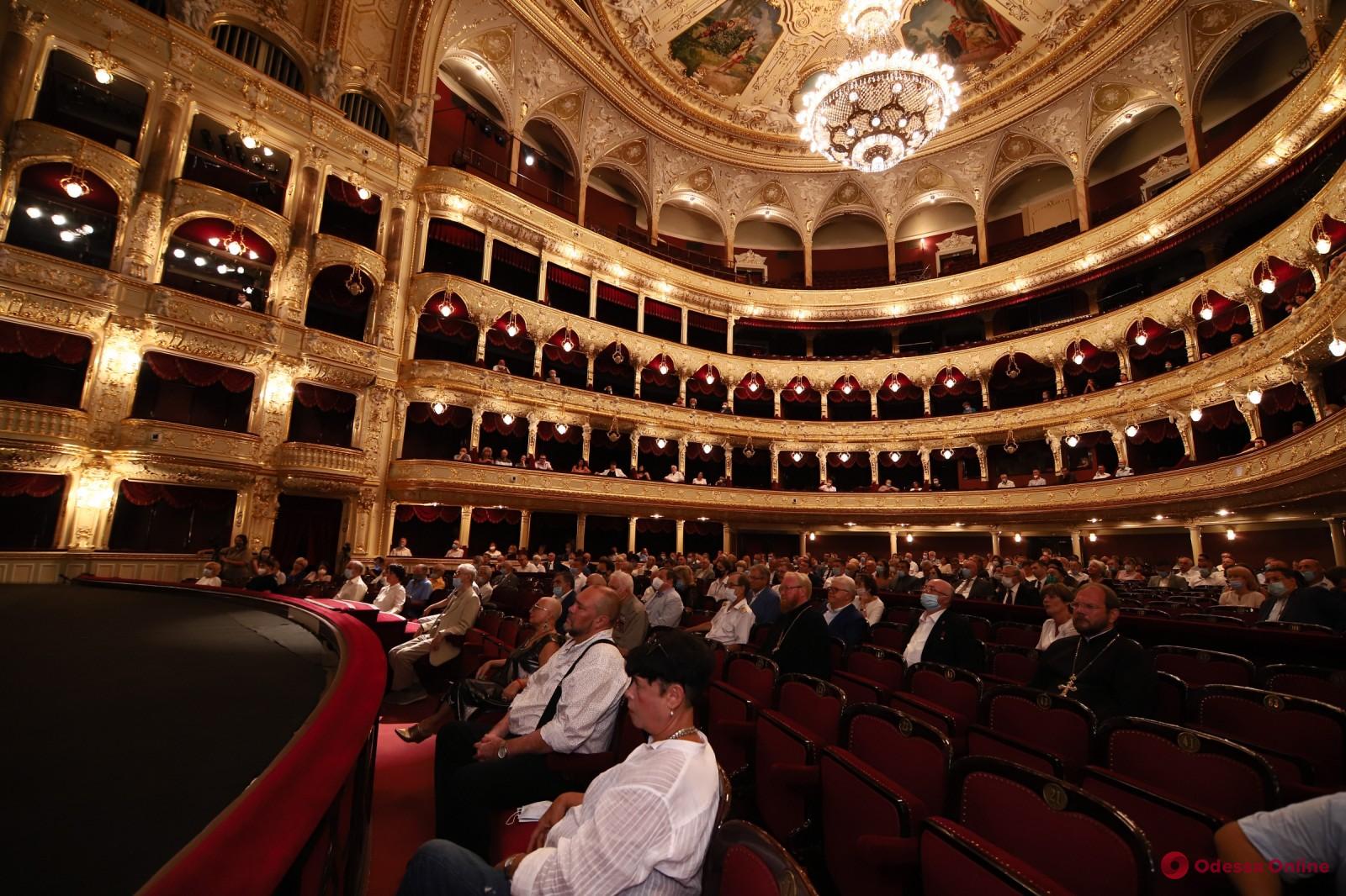 В Одесской опере прошли первые торжества по случаю Дня города (фото)