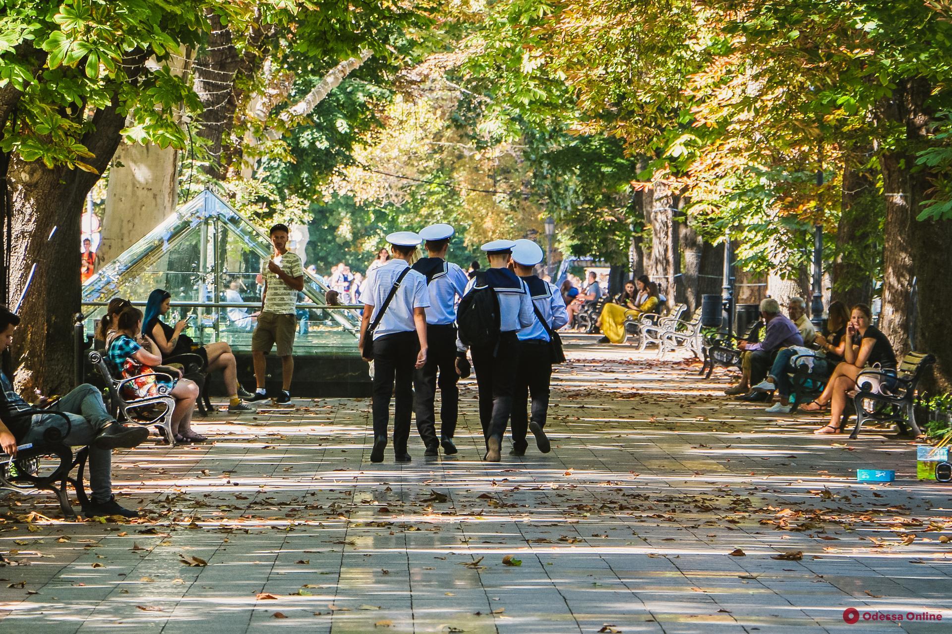 Бархатный сезон в Одессе (фоторепортаж)