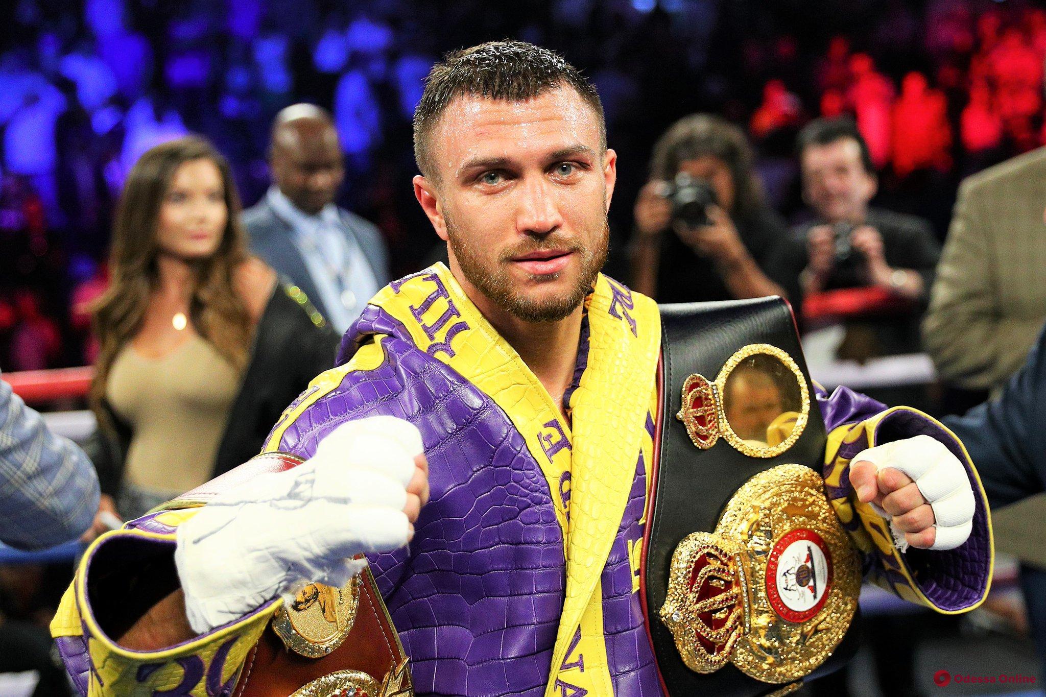 Бокс: определены соперник и дата следующего боя Василия Ломаченко