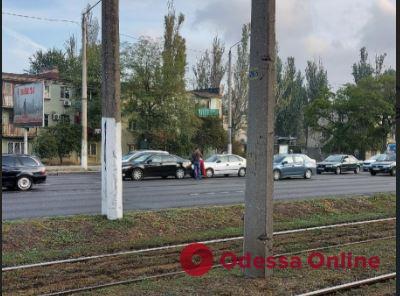 Дорожная обстановка в Одессе: традиционные пробки в спальных районах