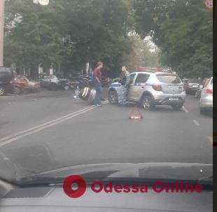 Дорожная обстановка в Одессе: ДТП и пробки в центре