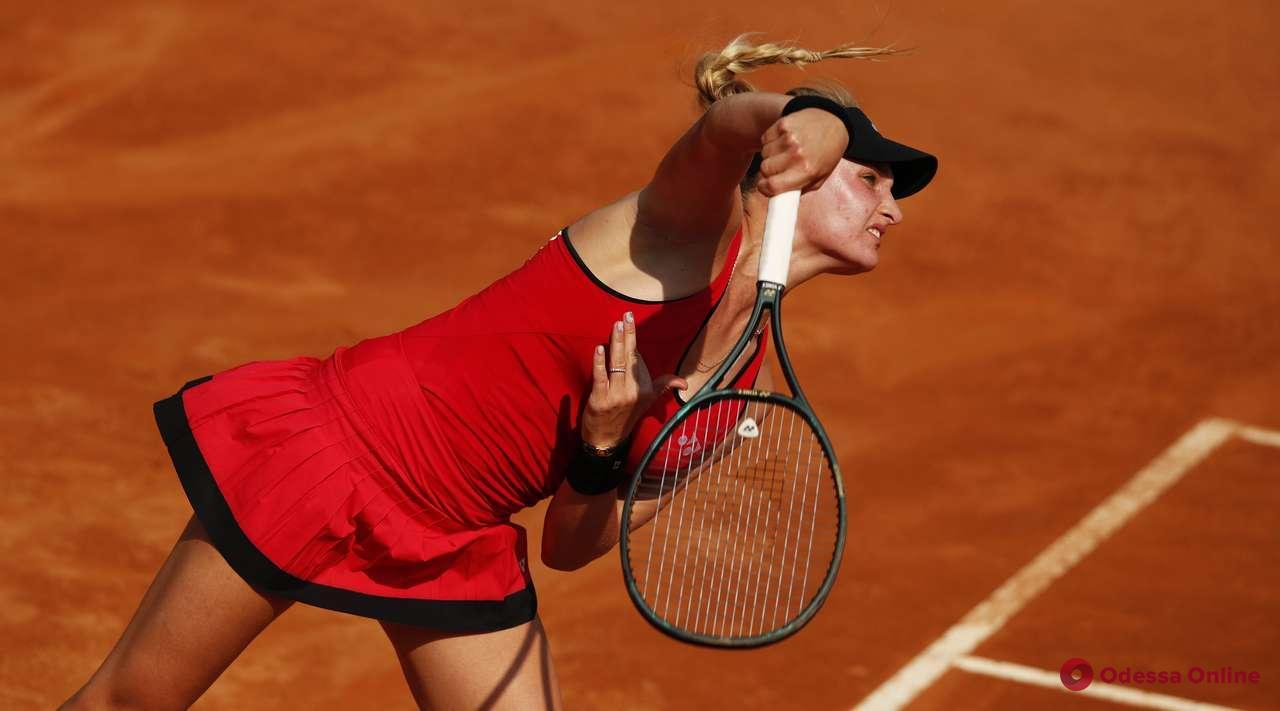 Долгожданное возвращение: одесская теннисистка сыграла первый матч с ноября прошлого года