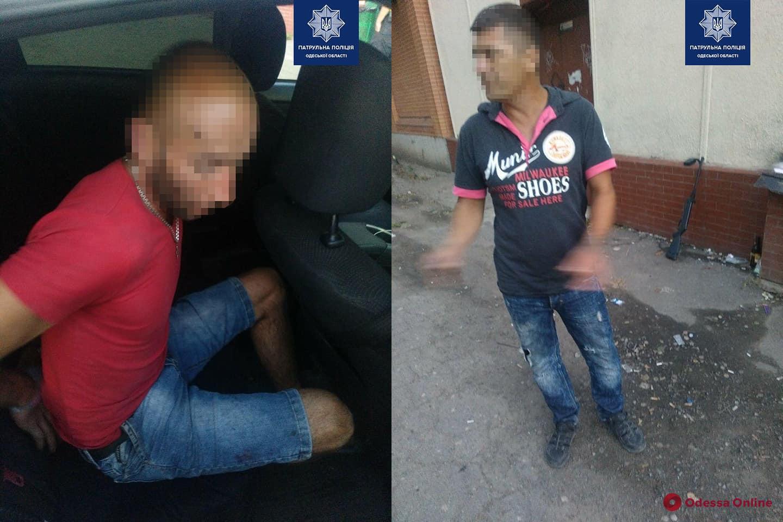 Патрульные задержали хулиганов, устроивших стрельбу на Таирова