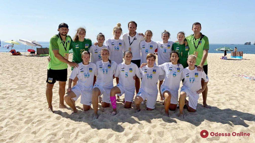 Ананьевская «Мрія-2006» успешно дебютировала в Кубке Европейских чемпионов по пляжному футболу