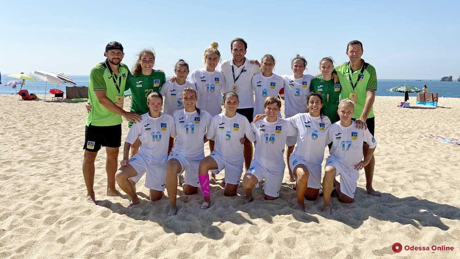 Пляжный футбол: ананьевская «Мрія-2006» досадно уступает в Португалии