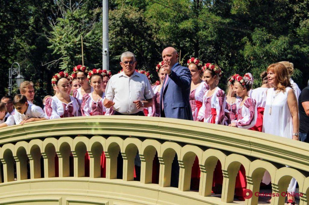 В Одессе открыли новый вход в зоопарк (фото)