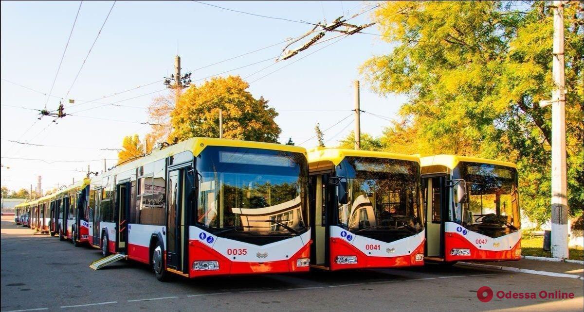Из-за реконструкции теплотрассы на Канатной изменена схема движения двух троллейбусных маршрутов
