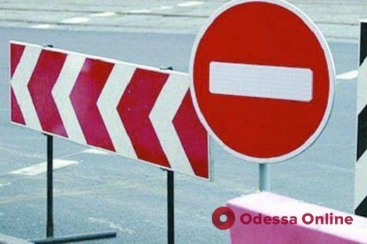 Одесса: изменена схема движения транспорта из-за реконструкции теплотрассы на Канатной