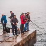 погода море пляж рыбак рыбаки