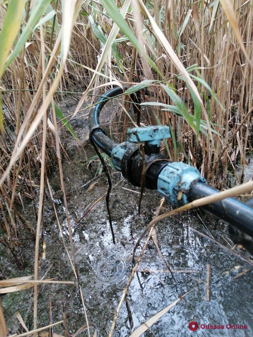 В Одесской области обнаружили очередной спиртопровод