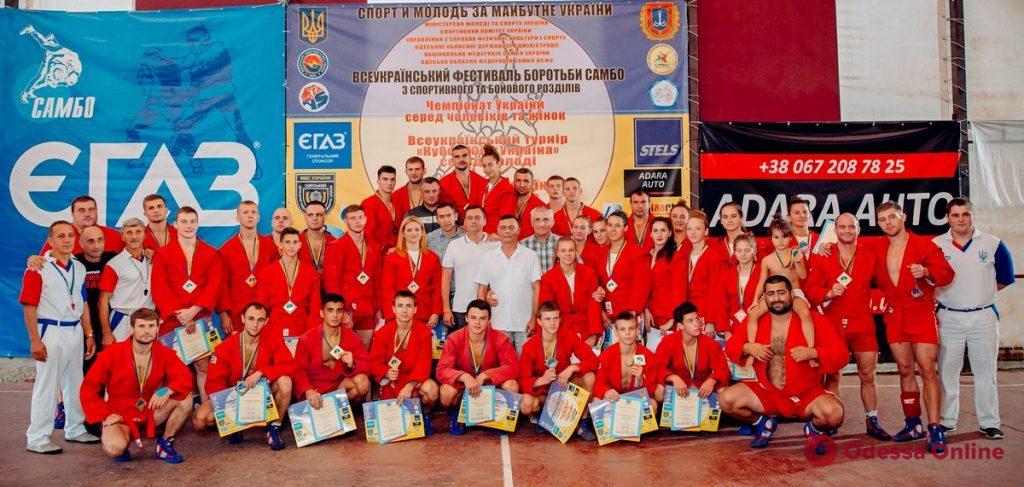 Восемь одесситов выступят на чемпионате мира по самбо