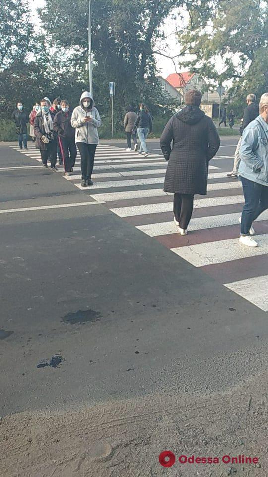 Одесситы перекрывали Тираспольское шоссе