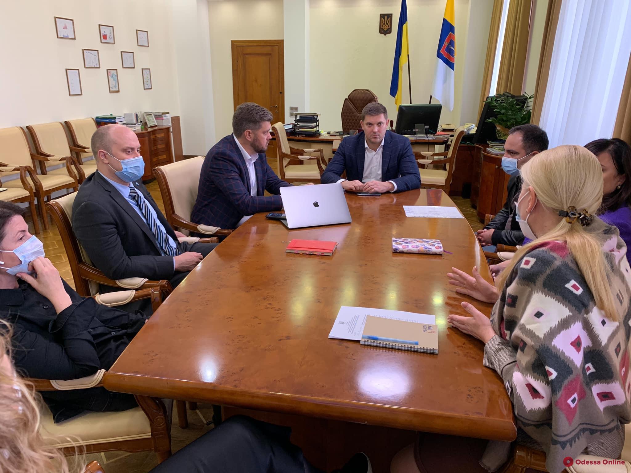 Губернатор Куцый заявил о намерении перепрофилировать четыре одесские больницы для приема пациентов с Covid-19