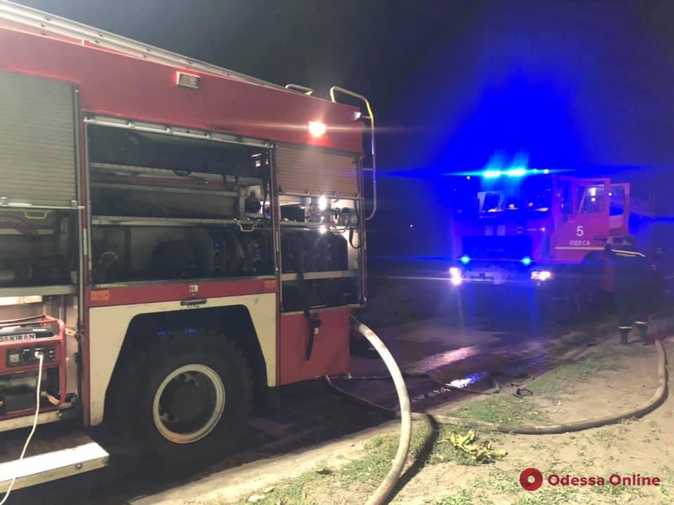 В Фонтанке горел частный дом (фото)