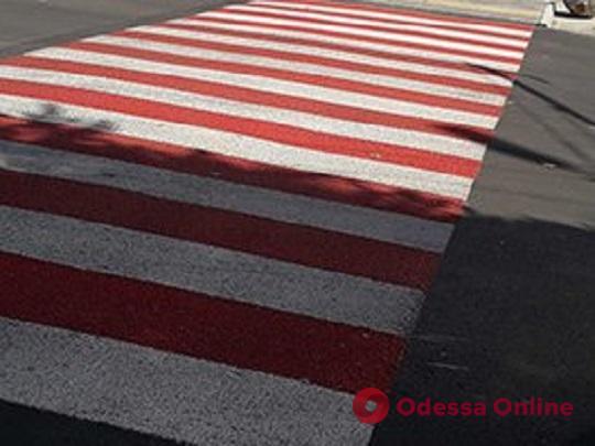 В Одессе провели инвентаризацию пешеходных переходов