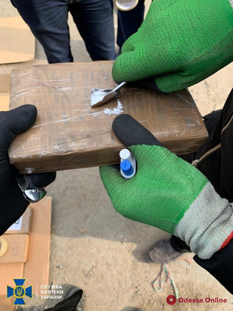 В порту «Южный» СБУ перехватила 50 килограммов кокаина
