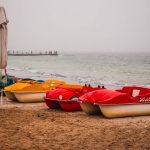 погода море пляж лодки лодка