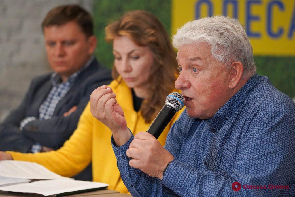 Кандидат в мэры Одессы Олег Филимонов рассказал, как будет создавать прозрачную мэрию