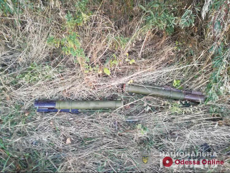 В Одесской области нашли схрон с оружием и боеприпасами