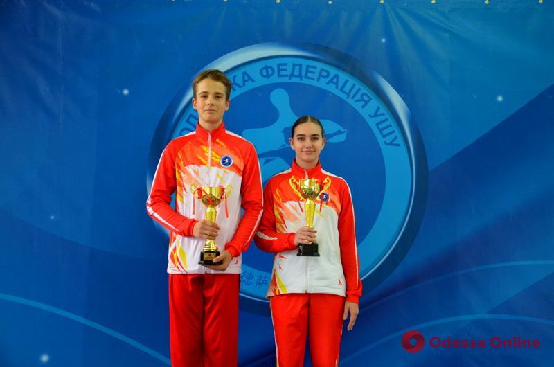 В Одессе состоялся Открытый Кубок области по спортивному ушу