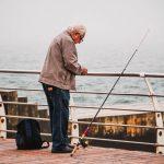 погода море пляж рыбак