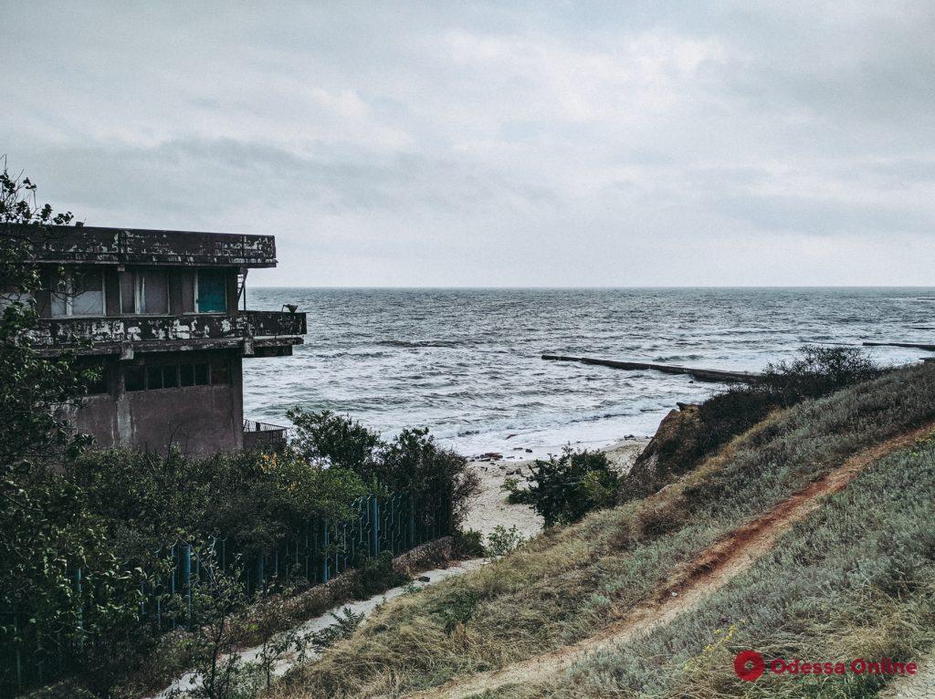 Красота осенних прибрежных склонов в Одессе (фоторепортаж)