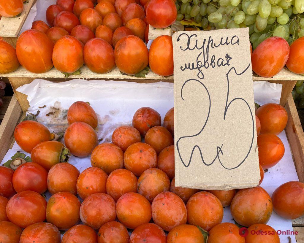 Айва, хрен и кефаль: воскресные цены на одесском «Привозе»