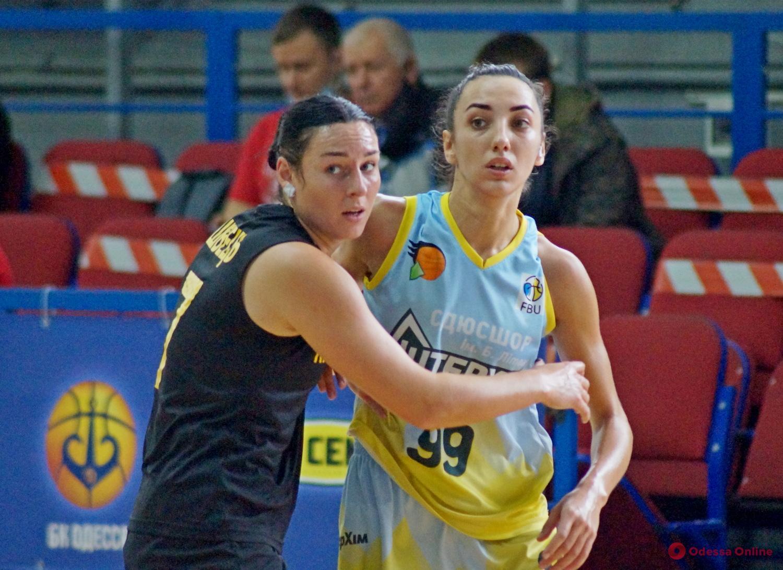 Одесские баскетболистки дважды крупно проиграли в Киеве