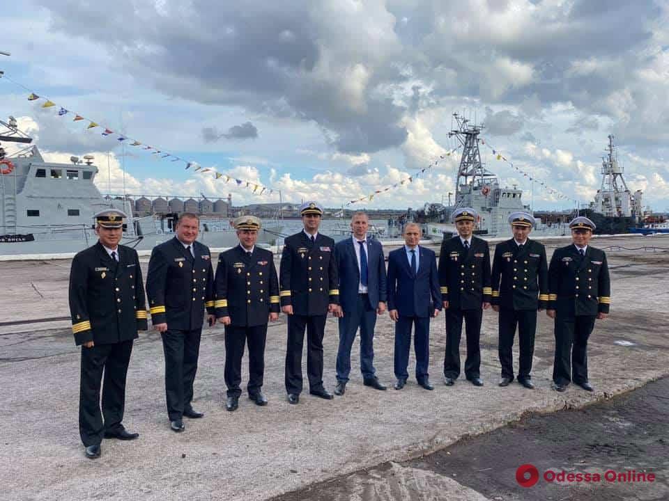 В порту «Южный» открыли новую базу Военно-морских сил Украины