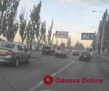 Дорожная обстановка в Одессе: пробки на Таирова, Слободке и в центре