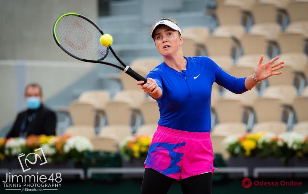 Одесская теннисистка вышла в 1/8 финала Roland Garros