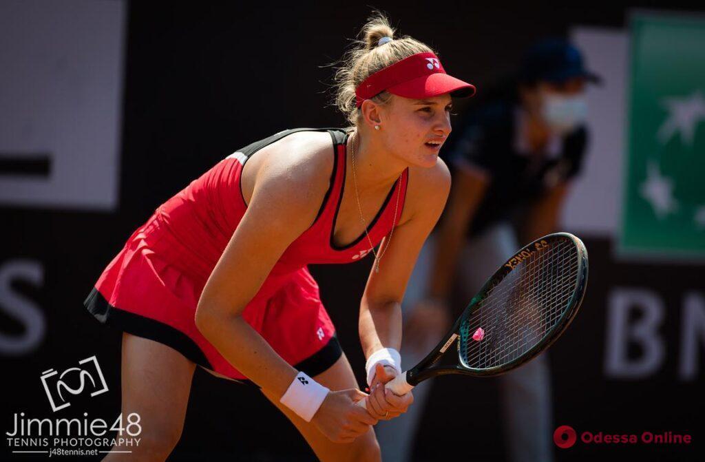 Одесские теннисистки дружно проиграли в своих первых матчах в Чехии