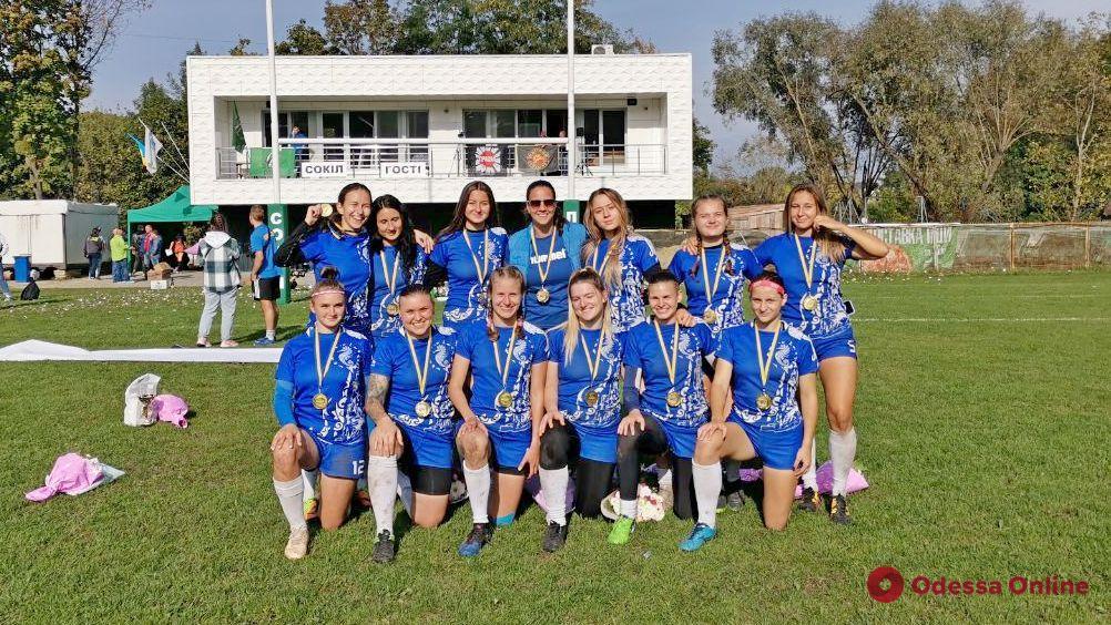 Регби: женская сборная Одессы выиграла все матчи украинской Суперлиги