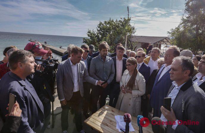 Юлия Тимошенко: Нужно законом защитить одесские склоны от незаконных застроек
