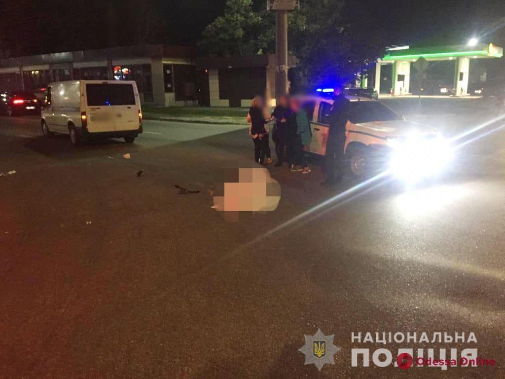 В Крыжановке грузовик насмерть сбил пешехода — водитель сбежал